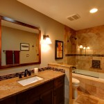 Warm Portland Bathroom Remodel