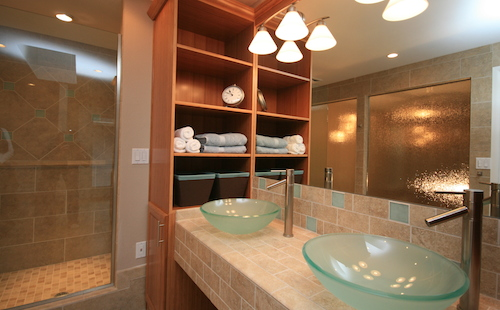 Portland home remodeling bathroom project